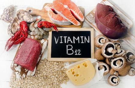 Vitamin B-12 deficiency occurs